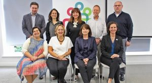 ENNHRI Board and Secretariat representatives in Dublin