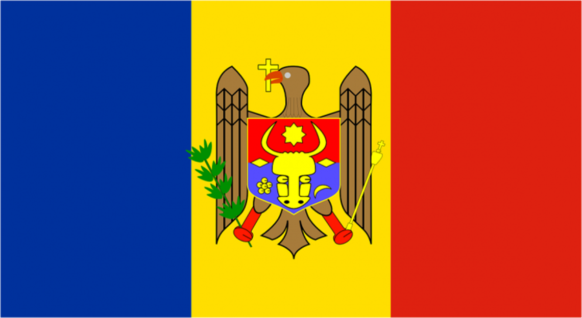 Flag of the Republic of Moldova