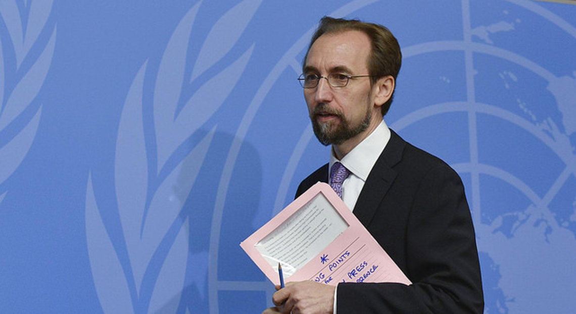 High Commissioner for Human Rights, Zeid Ra'ad Al Hussein