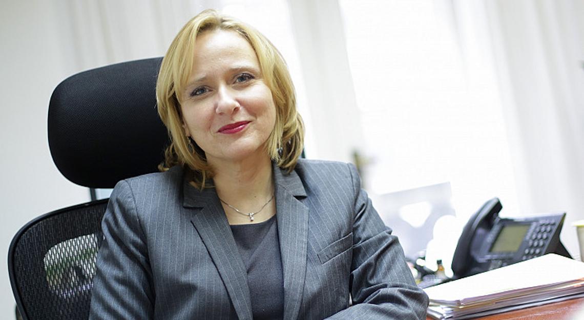 Lora Vidovic, the Ombudswoman of Croatia