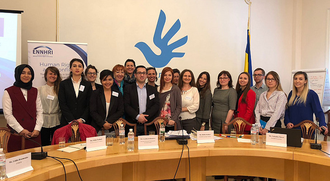Participants at the workshop in Kyiv