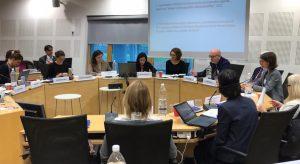 Collaborative Platform Meeting - participants having a discussion