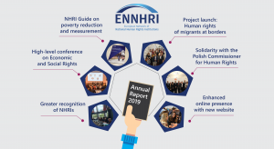 ENNHRI's Annual Report shows the recognition, impact and solidarity of European NHRIs in 2019