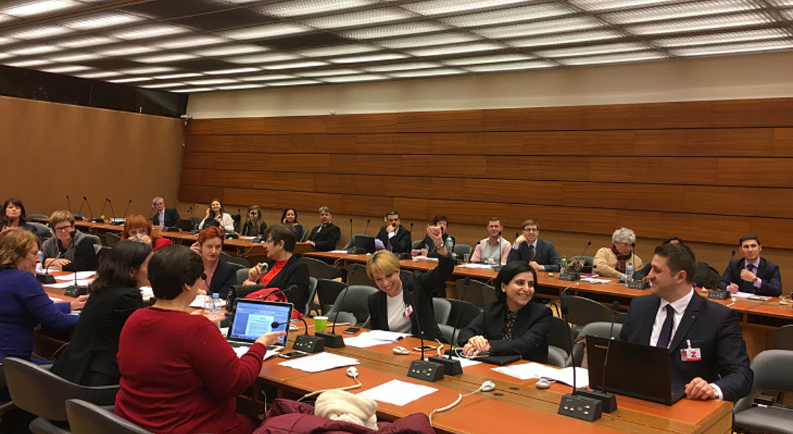 ENNHRI members at the General Assembly in Geneva