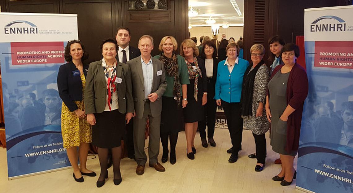 ENNHRI Board members and NHRI representatives