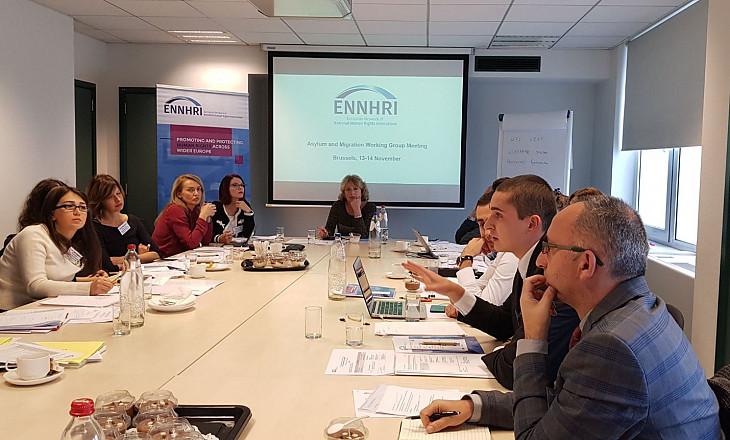 Asylum & Migration Working Group meeting on 13-14 November 2018 in Brussels
