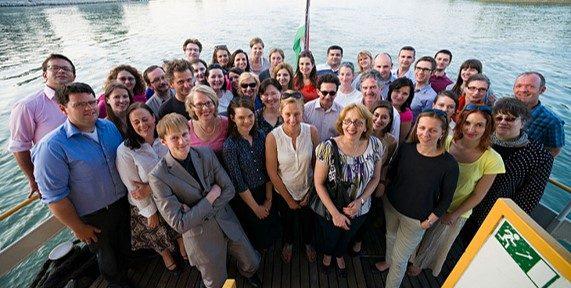 Group of NHRI staff