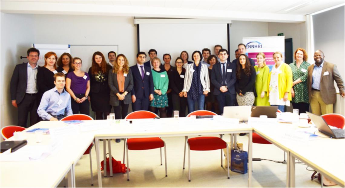 ENNHRI CRPD Working Group meeting (14 May 2019 - Brussels, Belgium)