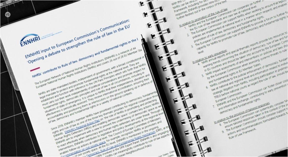 ENNHRI Statement to European Commission