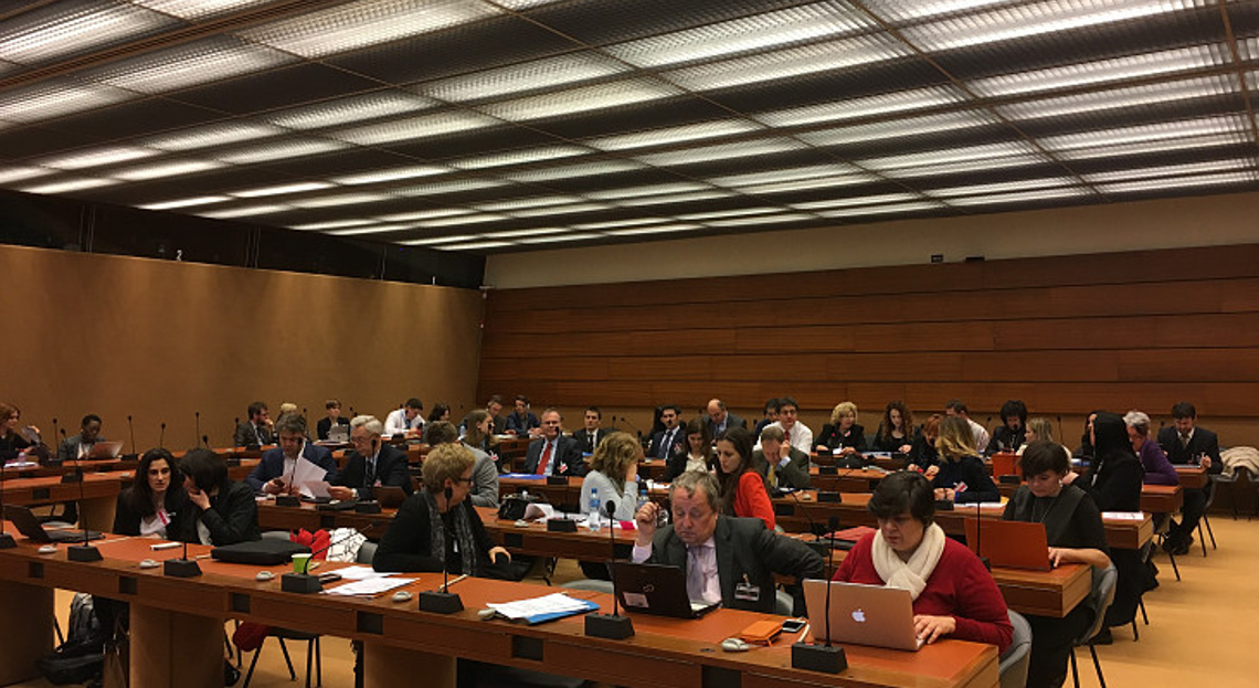 ENNHRI members at the General Assembly