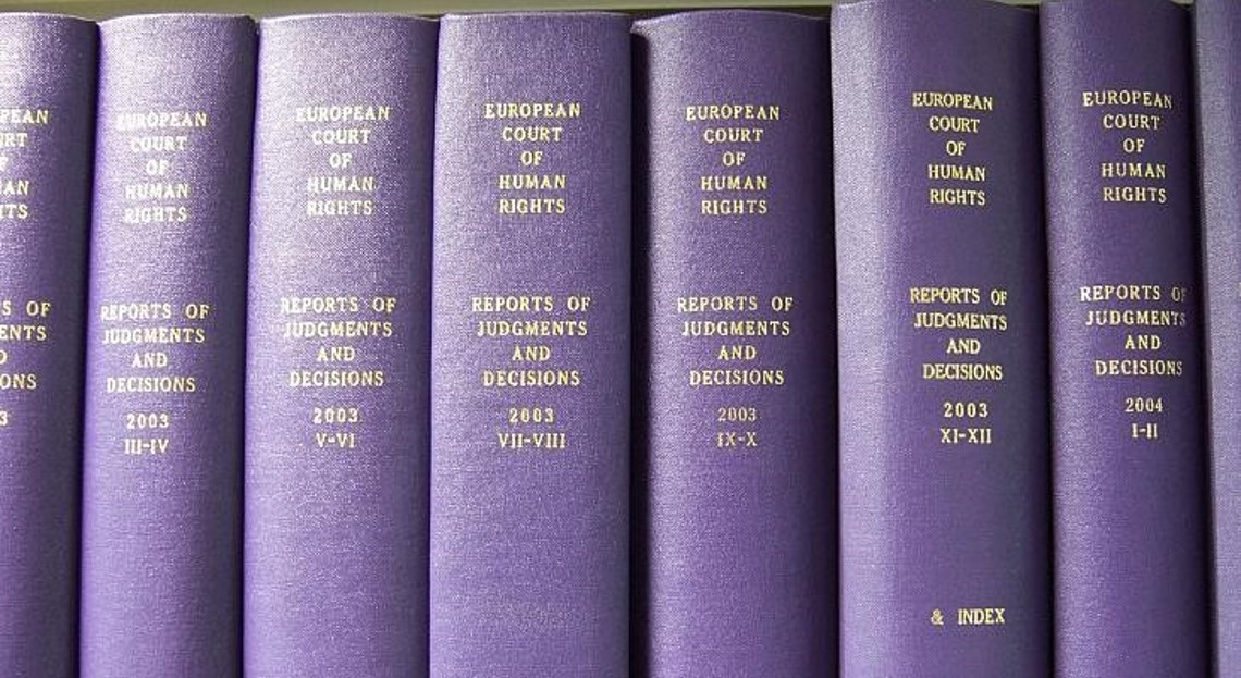European Court of Human Rights books