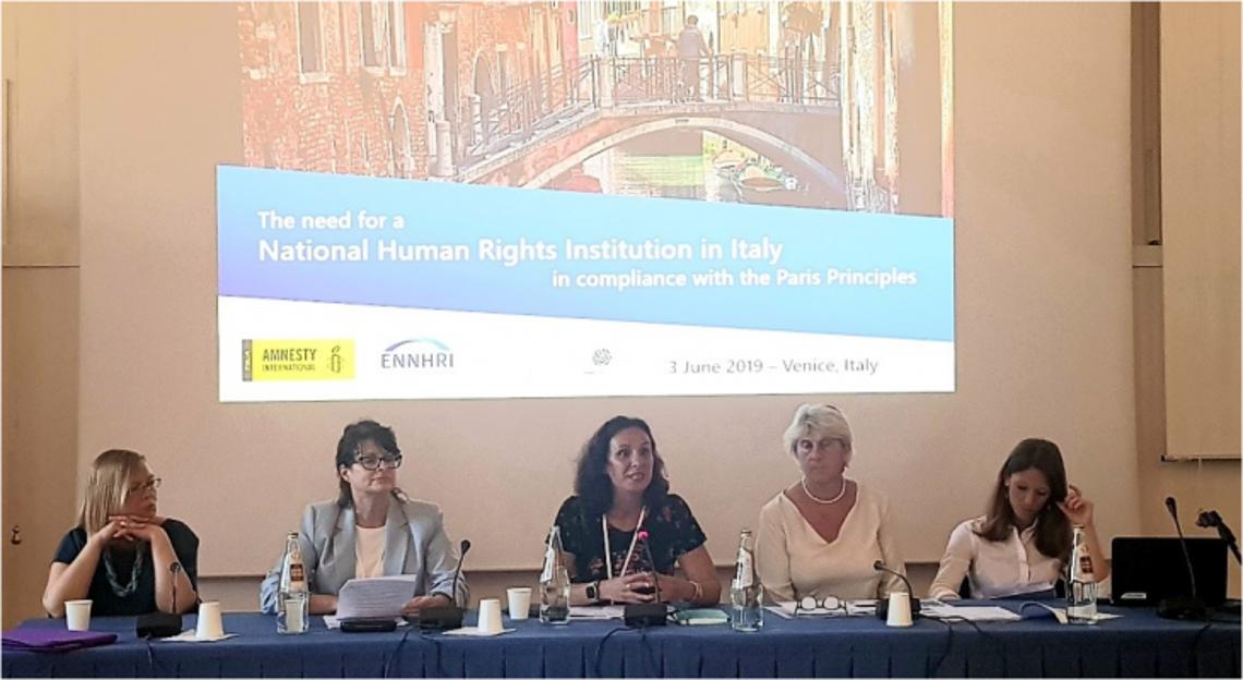 Katarzyna Gardapkhadze, Emily Logan, Debbie Kohner, Barbara Terenzi and Giulia Groppi