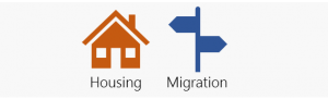Housing and migration icons