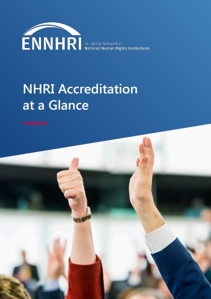 NHRI Accreditation at a glance_front page