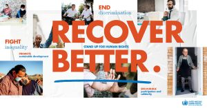 "NHRIs join the Human Rights Day Campaign ""Recover Better – Stand up for human rights"""