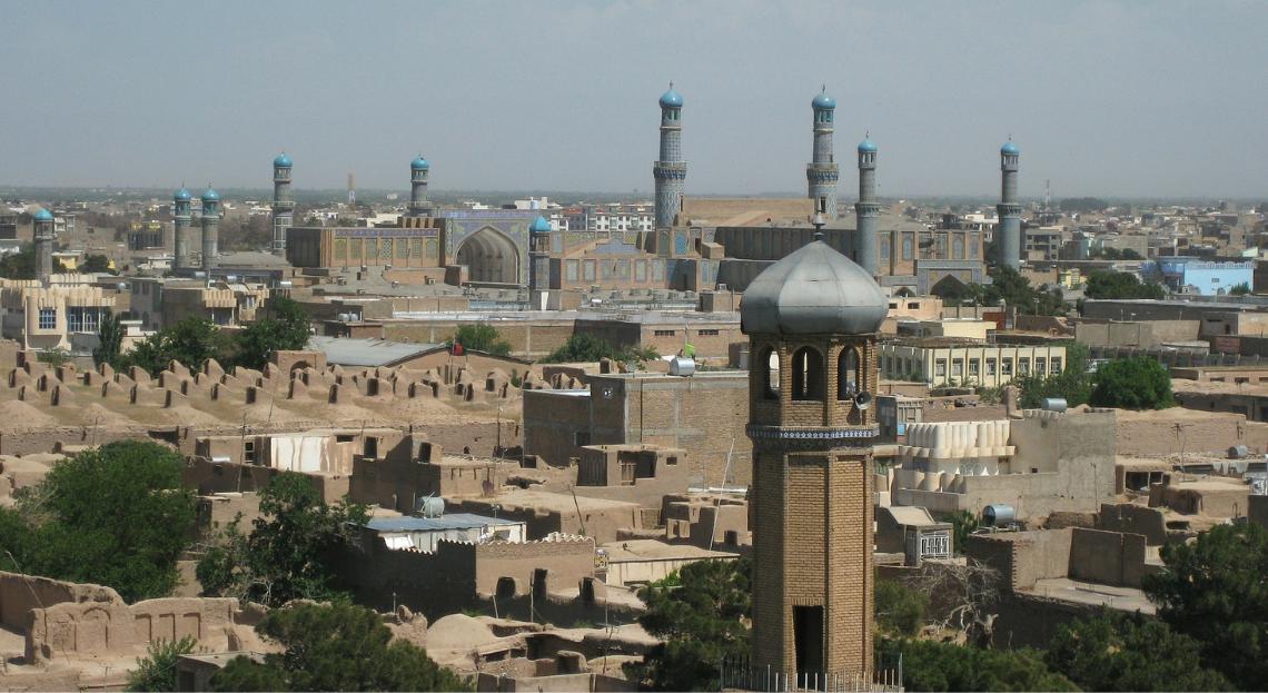 Herat cityscape